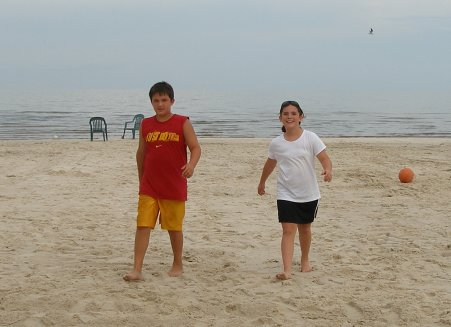 Beach Party in Lakeshore 2006