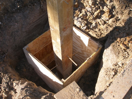 mud holes