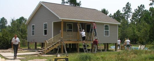 Boyd House Siding