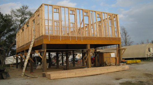 Framing the Bunk House