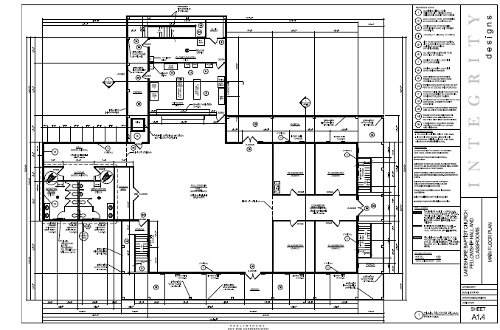 Fellowship Hall Sunday School Floor plan