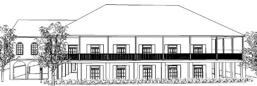 The Lakeshore Baptist Church Fellowship Hall concept