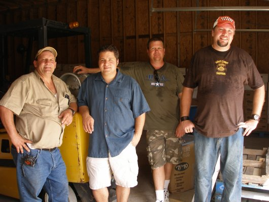 forklift - James Bobbitt, Don Elbourne, Phillip Means, and Ray Douglas