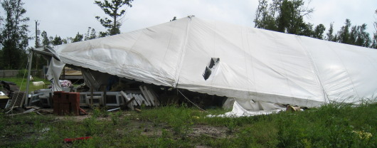 Hurricane Gustav Damage