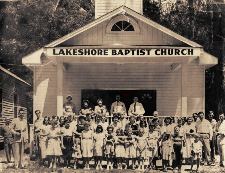 Lakeshore Baptist Church - ca 1952