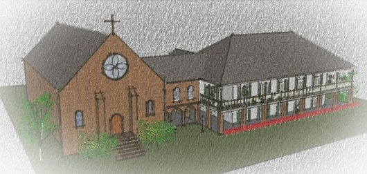 Lakeshore Baptist Church - main complex concept