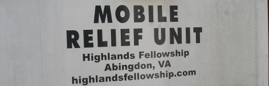 Abingdon Virginia Mobile Relief Unit