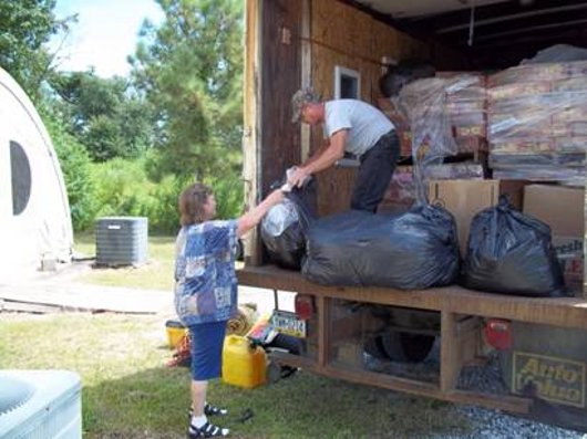Donations by the Truck Load