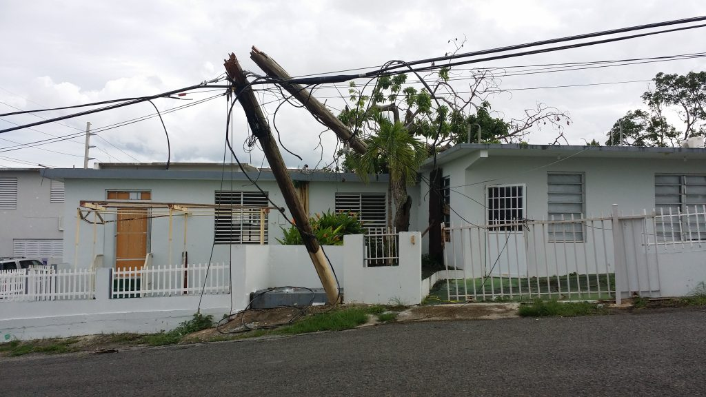 Power out in Puerto Rico