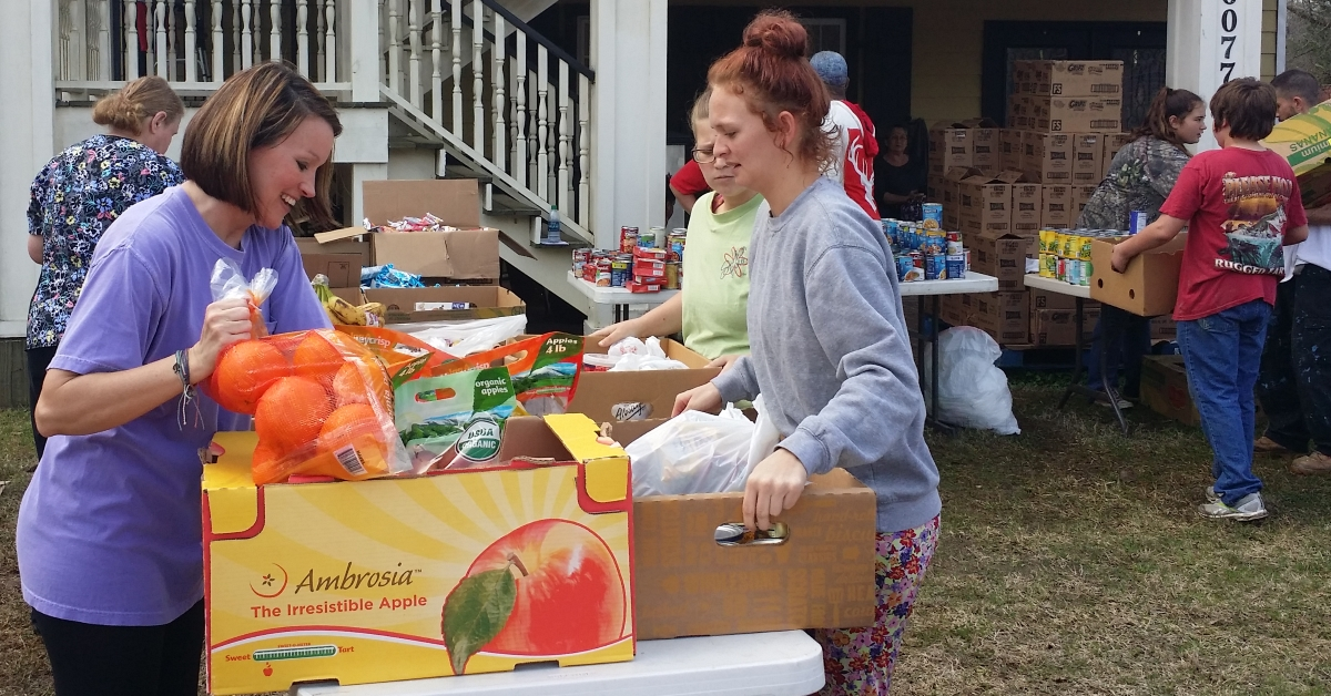 Food Abundance Event at Lakeshore Baptist Church