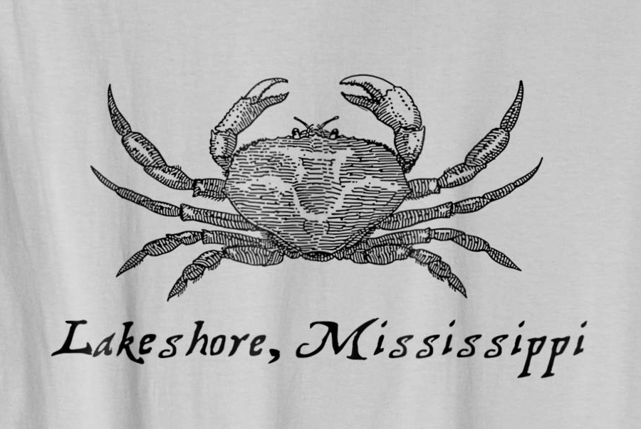 Lakeshore Mississippi with Crab