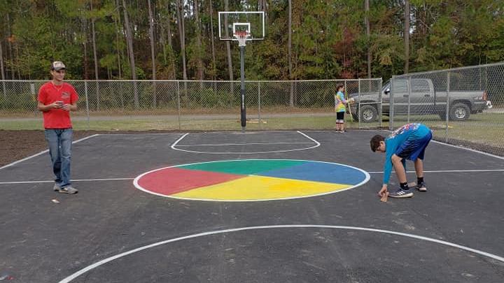 Bayside Baptist Church Basketball