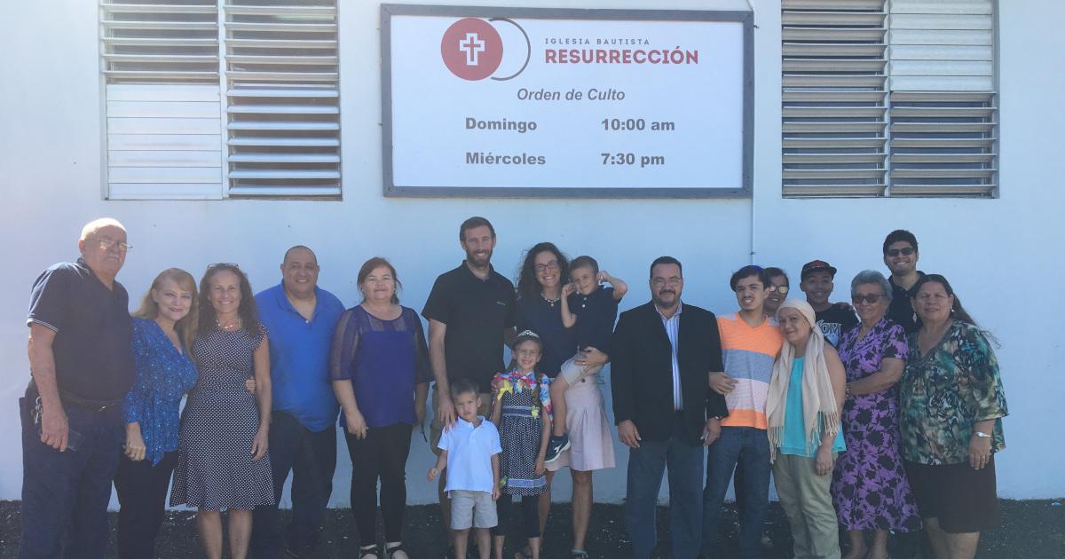 Iglesia Bautista Resurrección in Isabela, Puerto Rico