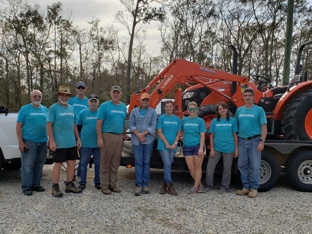 Istrouma Baptist Disaster Relief on the Gulf Coast