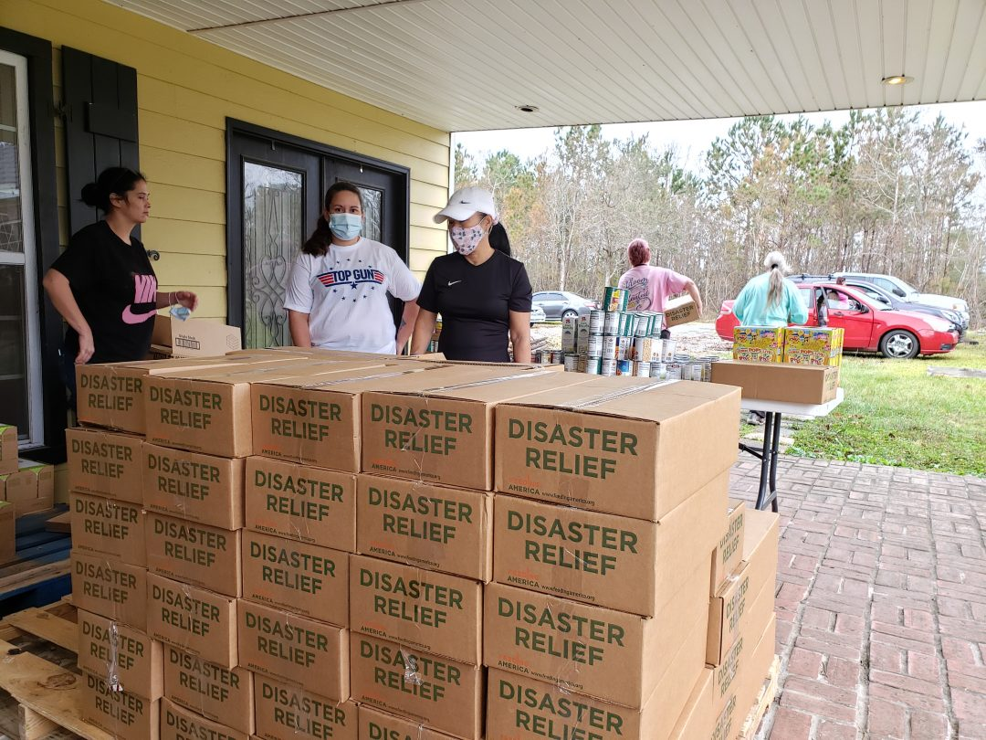 Hurricane Zeta Disaster Relief Food